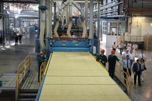 Производственная линия по изготовлению базальтовой ваты