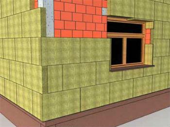 Схема расположения плит минваты, для избежания появления мостиков холода