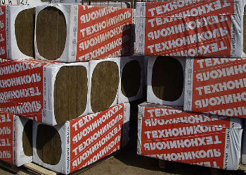 Жесткие плиты для утепления стен Технониколь