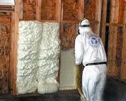 Теплоизоляция внутренней поверхности стен пенным утеплителем