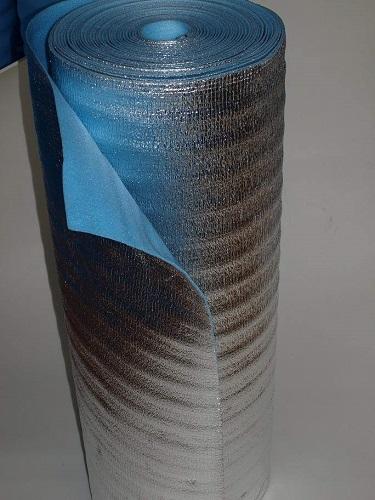 Рулонный пенофол с односторонним фольгированием