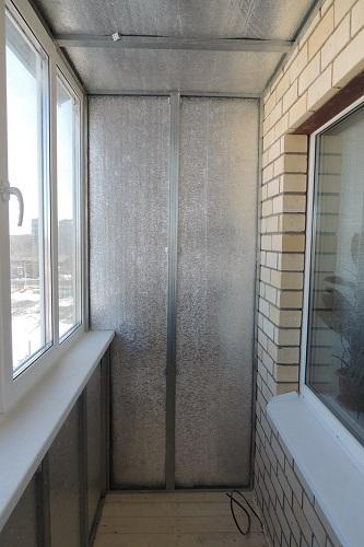 Утепление балкона пенофолом своими руками пошаговая инструкц.
