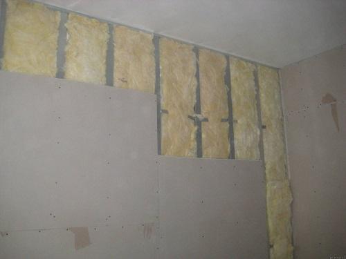 Шумоизоляция стен с помощью Изовер Звукозащита