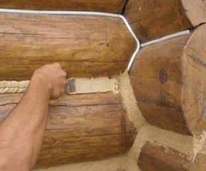 Теплоизоляция здания из бруса внутри