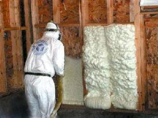 Утепление стен с помощью пеноизола