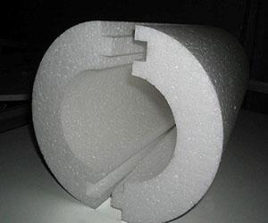 Утеплительная скорлупа из полистирола