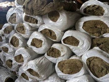Прошивные маты из минеральной ваты, упакованы на складе