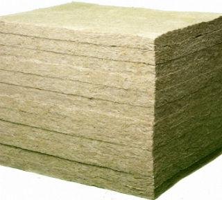 Пример структуры базальтовых минераловатных плит