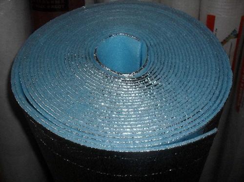 Фольгированный пенофол - один из лучших материалов для утепления балкона