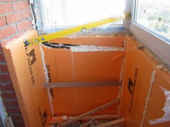 Применение пеноплекса для теплоизоляции балкона