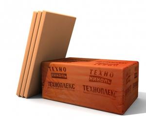 Теплоизоляционный материал Техноплекс