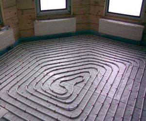 Теплоизоляционная система теплый пол