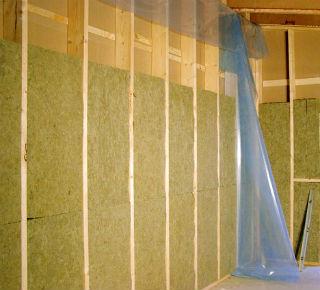 Использование минваты для утепления стен в парилке