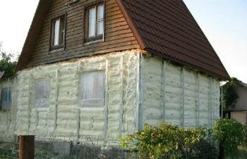 Применение пеноизола для теплоизоляции стен снаружи