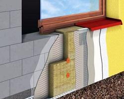 Правильное утепление стен дома минеральной ватой