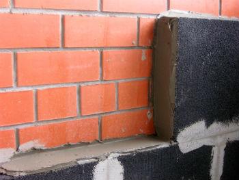 Проще всего блоки пеностекла использовать для утепления стен
