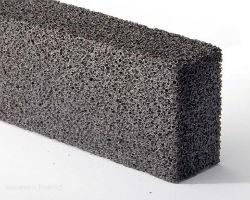 Блок из пеностекла с большими порами