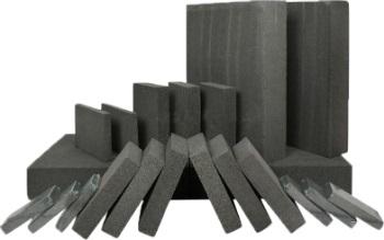 Пеностекольные блоки разных габаритов