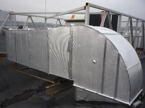Теплоизоляция вентиляционных каналов