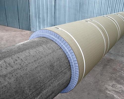 Теплоизоляция трубопровода утеплителем Термит