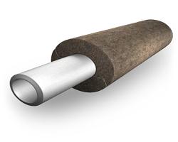 Теплоизоляция трубопровода из минеральной ваты