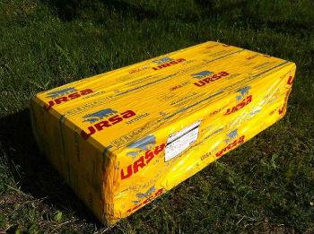 Пенополистирол УРСА в стандартной упаковке