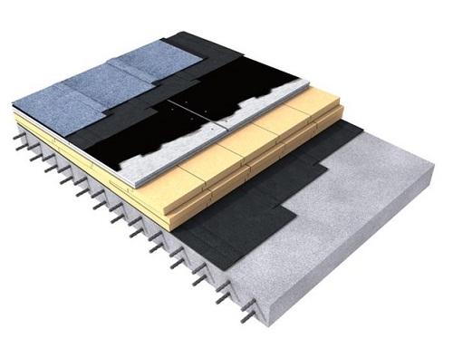 Схема теплоизоляции бетонного перекрытия Карбон Пруф