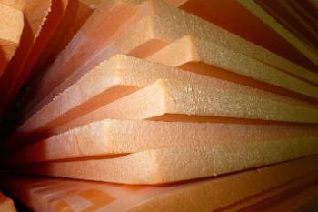 Структура плит пеноплекса