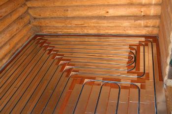 Создание деревянного теплого пола из готовых конструкций