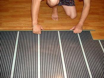 Покрытие по пленочному полу можно настилать без подготовки