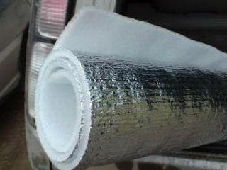 Вспененный полиэтилен с фольгой, выполняет функции отражающей изоляции