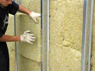 Утепление стен по каркасной технологии ватой Эковер