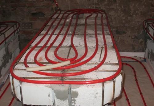Отопление лежаков и массажного стола