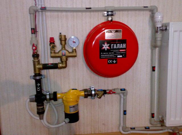 установка электрического котла отопления в частном доме