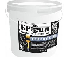 Упаковка жидкой теплоизоляции Броня Классик