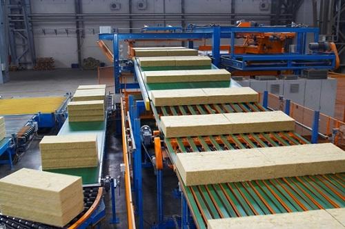 Технологическая линия по производству базальтовой ваты Технониколь
