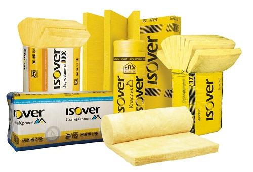 Разнообразие теплоизоляционных материалов Изовер
