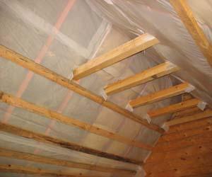 Теплоизоляция из минваты внутри здания