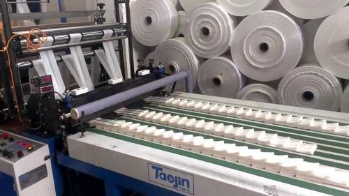 Линия по производству фасовочных полиэтиленовых пакетов