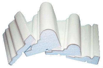 Стандартные пенопластовые молдинги для стен