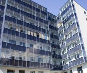 Утепленное многоэтажное здание