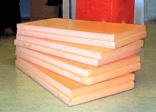 Плиты пеноплекса толщиной 8 см, для утепления стен