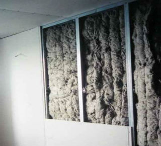 Использование матов для утепления самонесущих стен