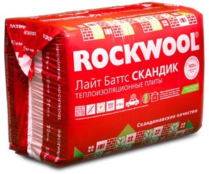 "Утеплитель ""ЛАЙТ БАТТС"" от компании Rockwool"