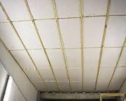 Звукоизоляция потолка с помощью пенополистирола (пеноплекса)