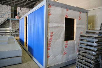 Использование гидроизоляции Изоспан А на стене вагончика