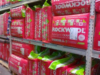 Самый популярный теплоизоляционный материал - Роквул Лайт Баттс Скандик