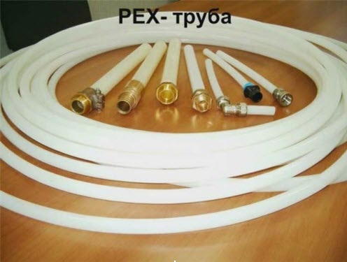 Труба из сшитого полиэтилена и возможные варианты её соединений