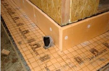 Утепление стен из дерева с помощью плит пеноплекса
