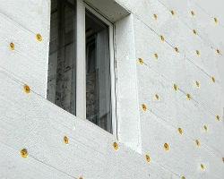 Результат утепления фасада дома пенопластом